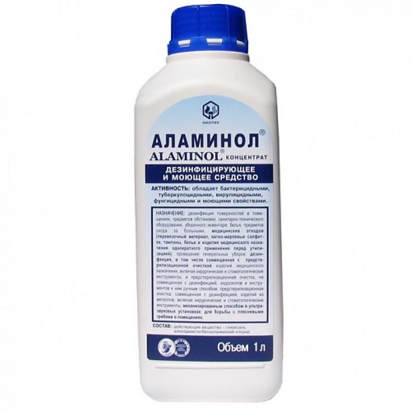 """Дезтнфицирующее и моющее средство """"Аламинол"""", 1л"""