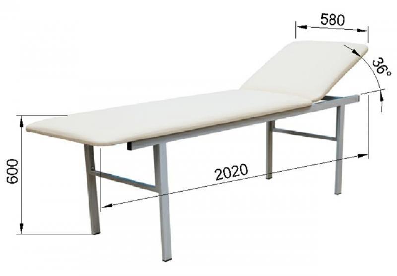Кушетка процедурная Э-002-ПК